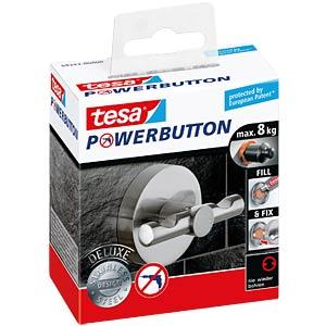 Tesa® Powerbutton hooks – deluxe round matt TESA 59343-0000-00