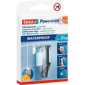 tesa® Powerstrips® Waterproof Strips Large TESA 59700-00000-03