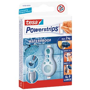 tesa® Powerstrips® Waterproof Strips Large TESA 59700-00000-00