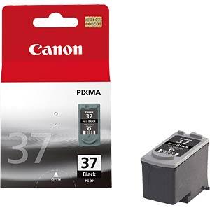 Tinte, schwarz - PG-37 - original CANON 2145B001