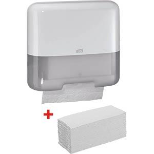 TORK 953101 - TORK Papierhandtuchspender-Set H3 Classic Box Mini