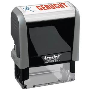 Stempel, Text (GEBUCHT) TRODAT 4912