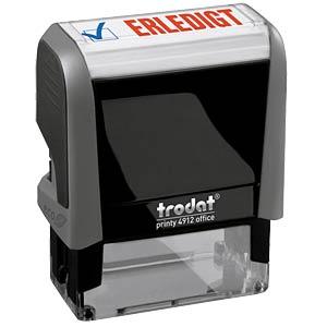 Stempel, Text (ERLEDIGT) TRODAT 49125