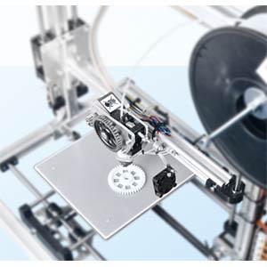 3D printer, K8200 - kit including 1-kg PLA support: http://www.k VELLEMAN K8200