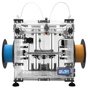 3D VERTEX (K8400) printer kit — with dual extruder VELLEMAN K8400