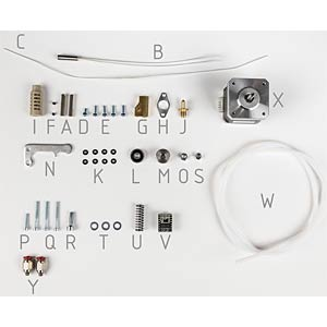 Dual extruder upgrade kit for Vertex K8400 VELLEMAN K8402