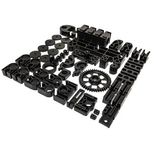 Black components (plastic) for K8200 (set) VELLEMAN MP8200SET/SP