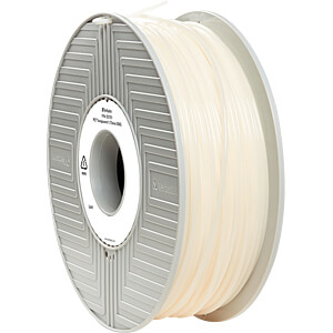 PET Filament - transparent - 1,75 mm - 500 g VERBATIM 55751