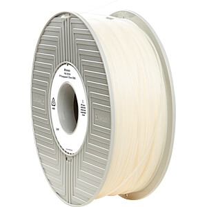 PP Filament - transparent - 1,75 mm - 500 g VERBATIM 55950