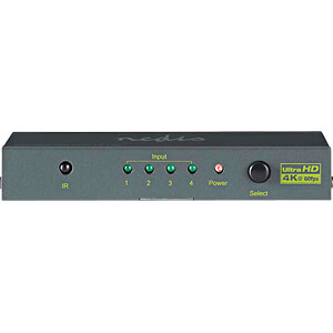 HDMI™ Switch, 4-port, 4K2K@60fps / HDCP2.2 NEDIS VSWI3434AT