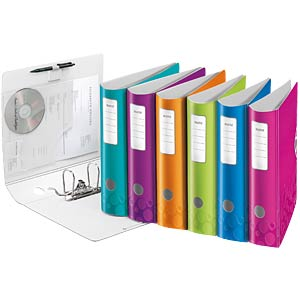 Leitz 180° Active WOW Lever Arch File, 80 mm LEITZ 11060023