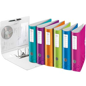 Leitz 180° Active WOW Lever Arch File, 80 mm LEITZ 11060051