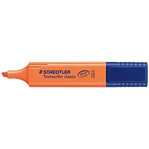 Highlighter, chisel tip, orange STAEDTLER 364-4