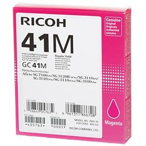 Gelpatrone - GC-41C - maganta RICOH 405763