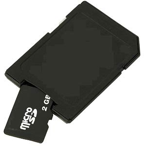 Micro-SD to SD-Card adapter FREI