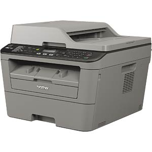 4-in-1 multifunction laser printer with LAN/WLAN, duplex BROTHER MFCL2700DWG1