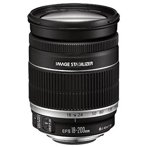 Lens: Zoom 18 - 200 mm CANON 2752B005