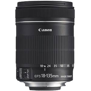 Lens: All-round zoom 18 - 135 mm CANON 3558B005