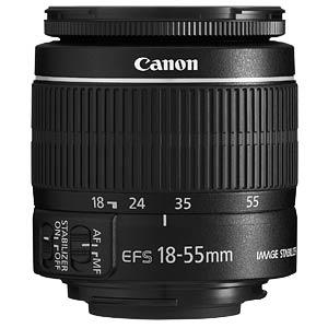 Lens: Zoom 18-55 mm CANON 5121B005