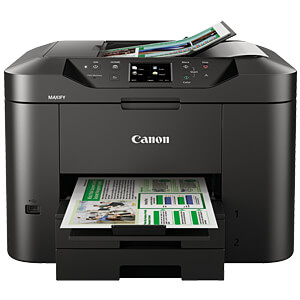 4-in-1 multifunction printer with LAN/WLAN and duplex CANON 9488B006