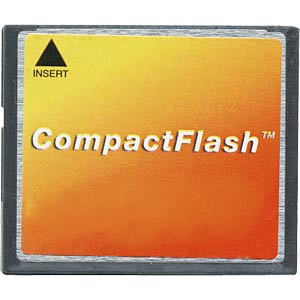 CF card, 4 GB, different brand manufacturers FREI