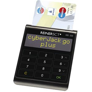 cyberJack go, chip card reader with memory REINER-SCT 2722000000