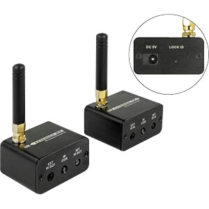 Wireless Infrarot Extender Set DELOCK 65949