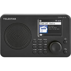 DIRA M5I SW - Internetradio
