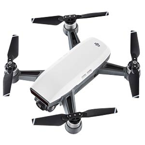 DJI SPARK — Quadcopter — Bundle — white DJI CP.PT.000889