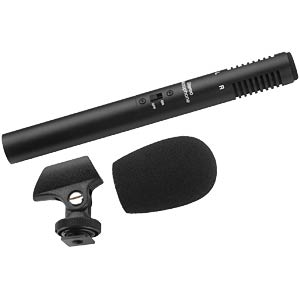 Electret stereo microphone MONACOR 23.0380