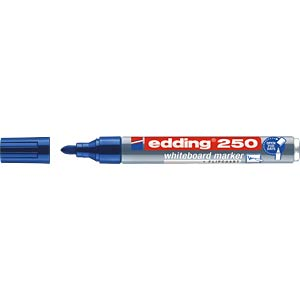 Whiteboard Marker, 1,5 - 3,0 mm, blau EDDING 4-250003