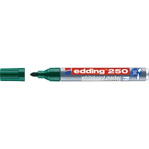Whiteboard Marker, 1,5 - 3,0 mm, grün EDDING 4-250004