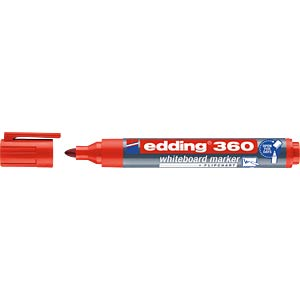 Whiteboard Marker / rot / 1,5 - 3,0 mm EDDING 4-360002
