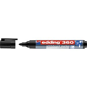 Whiteboard marker/black/1.5 - 3.0 mm EDDING 4-360001