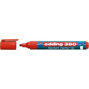 Flipchart marker/red/1.5 - 3.0 mm EDDING 4-380002