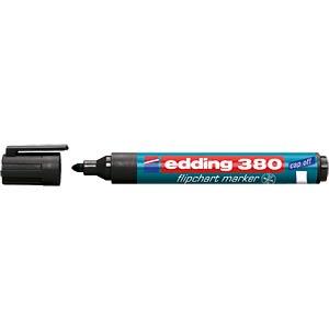 Flipchart marker/black/1.5 - 3.0 mm EDDING 4-380001