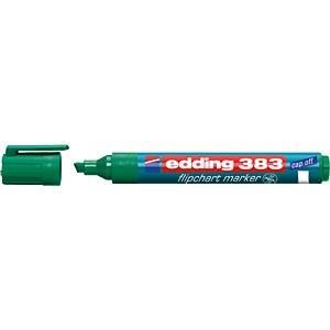 Flipchart Marker, 1,0 - 5,0 mm, grün EDDING 4-383004