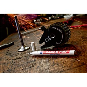 Paint marker, red, 0.8 mm EDDING 4-780002