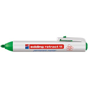 Permanent marker/green/1.50 - 3.00 mm EDDING 4-11004