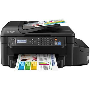4in1 Multifunktionsdrucker mit LAN/WLAN, Duplex EPSON C11CE71404