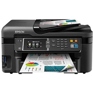 4-in-1 multifunction printer with LAN/WIFI, duplex EPSON C11CD19302