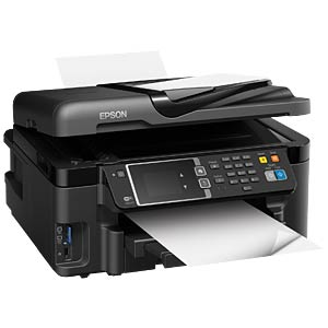 4in1 Multifunktionsdrucker mit LAN/WLAN, Duplex EPSON C11CD19302