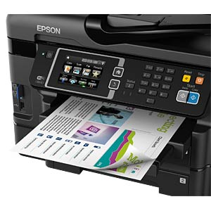4in1 Multifunktionsdrucker mit LAN/WLAN, Duplex EPSON C11CD16302
