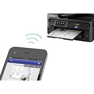 4in1 Multifunktionsdrucker A3+ mit LAN/WLAN, Duplex EPSON C11CC98302