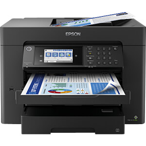 Printer, inkt, 4-in-1, WiFi, LAN, Duplex, ink. UHG EPSON C11CH67402