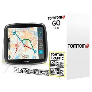 "15 cm/6"" navigator with Lifetime TomTom Traffic (152 countries) TOMTOM 1FL6.002.58"