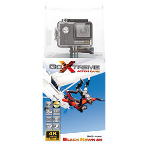 Action Cam, 4K Ultra HD, BlackHawk GOXTREME 20132