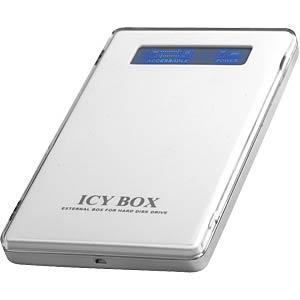 externes 2.5 HDD Gehäuse IDE, USB 2.0 ICYBOX 20220