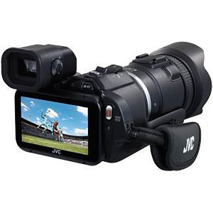 digitaler Camcorder, Full HD, High-Speed JVC GC-PX100BEU