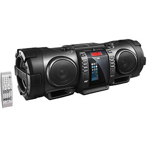 Boomblaster with powered subwoofer JVC RV-NB100E